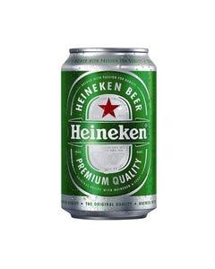 Heineken Lager Beer, Can  - 33cl