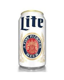 Miller Lite Beer, Can - 12 oz