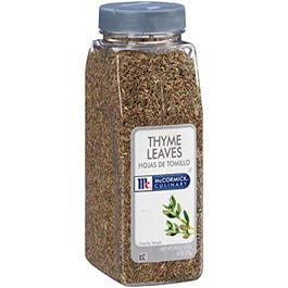 McCormick Thyme Leaves- 6 OZ (Piece)