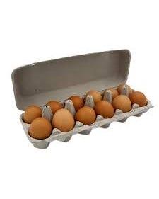Large Grade A Brown Eggs - Dozen (Piece)