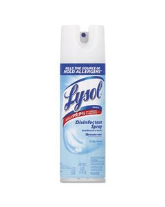Lysol Disinfectant Spray (Crisp Linen) - 6 oz (PACK OF 2)