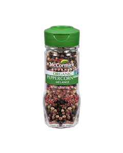 McCormick Gourmet Organic Melange Peppercorn - 1.25 oz