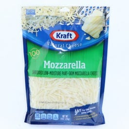 Kraft Mozzarella Shredded Cheese - 8 OZ (CASE)