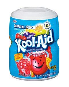 Kool Aid Tropical Punch Juice Mix - 19 OZ (CASE)