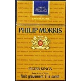 Philip Morris Filter King Cigarette - Pack (Piece)