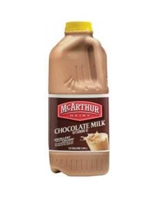 Mc Arthur Chocolate Miilk - 1/2 Gallon (CASE)