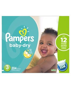 PAMPERS CONVNCE SZ 3 - 28'S (CASE)