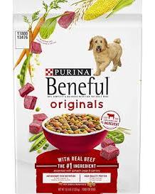 Beneful Originals Dry Dog Food w/Farm-Raised Beef - 15.5 Lbs (Piece)