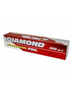 Diamond Aluminum Foil Paper - 200 SQF (CASE)
