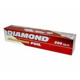 DIAMOND FOIL  200 SQF (CASE)
