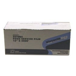 """Victoria Bay Foodservice Film with Cutter - 12""""x2M (Piece)"""