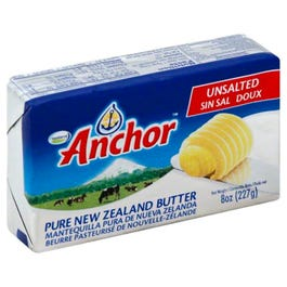 Anchor Butter Unsalted  - 227 Grams (CASE)