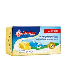 Anchor Butter Unsalted  - 454  Grams (CASE)