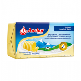 Anchor Butter Salted  - 454 Grams (CASE)