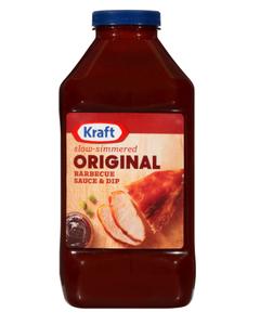 Kraft Original Barbeque Sauce - 82.5 oz (Piece)