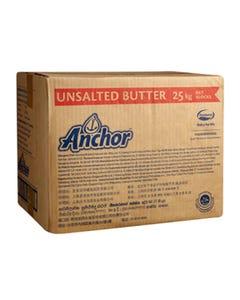 Anchor Butter Unsalted  - 25 Kg (Piece)