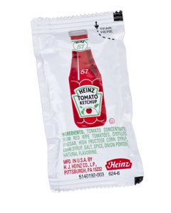 Heinz Single Serve Ketchup Packets - 500ct (Piece)