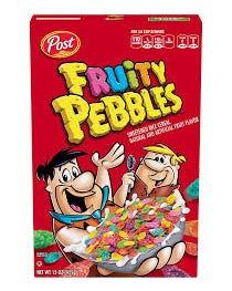 POST FRUITY PEBBLES 15 OZ (27) - 15 OZ (CASE)