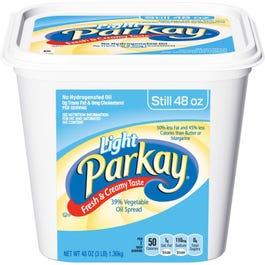Parkay Light Margaine Tub - 3 Lbs (CASE)