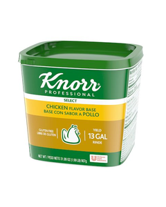 Knorr Professional Select Chicken Flavored Base  - 1.99 Lbs (CASE)