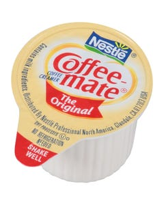Coffee-mate original flavor non-dairy creamer singles - 3/8 oz. (Piece)