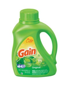 Gain 2x Ultra Original Liquid Laundry Detergent - 32 Loads (CASE)