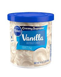 Pillsbury Vanilla Frosting - 453 Grams (CASE)