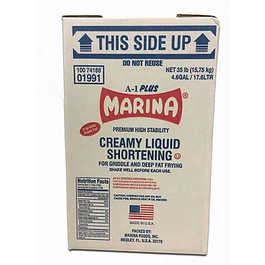 Marina Clear Fry Clear Liquid Shortening - 35lbs (Piece)