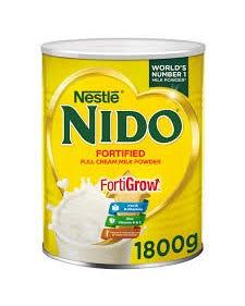 Nestle Nido Instant Full Cream Milk Powder - 1800 grams (CASE)