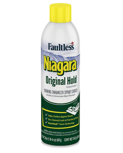 Niagara Original Hold Ironing Enhancer Spray Starch - 20 oz (Piece)