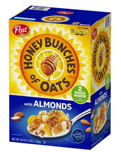 Post Honey Bunches of Oats Almond - 48 oz (CASE)