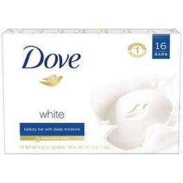 Dove Beauty Bar, White - 16/4 oz. (Piece)
