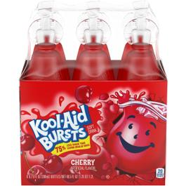 Kool Aid Burst Cherry Juice - 6.75 oz (CASE)