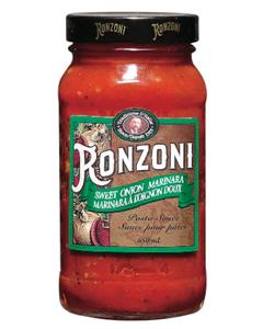 Ronzoni Marinara Sweet Onion Pasta Sauce - 650 ML