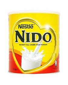 Nestle Nido Instant Full Cream Milk Powder - 2500 grams (CASE)