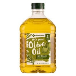 Member's Mark 100% Pure Olive Oil -3 L (Piece)