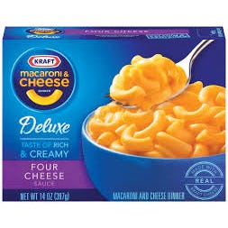 Kraft Macaroni and Cheese 4 Cheese - 14 OZ (CASE)