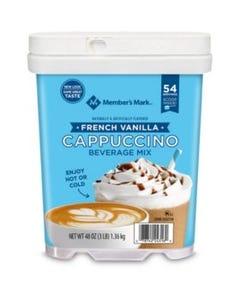 Member's Mark French Vanilla Cappucino Beverage - 48 oz (Piece)