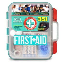 First-Aid Kit - 351 Pcs (Piece)