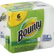 Bounty Select-A-Size White Paper Towels (6 Big Rolls (Piece)