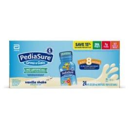 PediaSure Grow and Gain Nutrition Shake for Kids, Vanilla - 24/8 fl. oz.