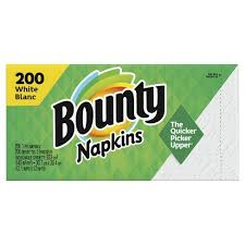 Bounty Quilted Napkins - 200 Cnt (CASE)