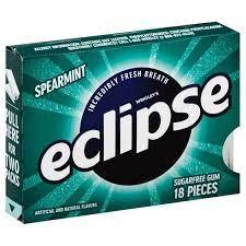 Wrigley's Eclipse Spearmint Mints - 18 Pcs (Piece)
