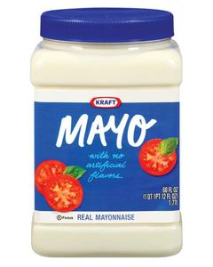 Kraft Original Mayonnaise -60 Oz (CASE)
