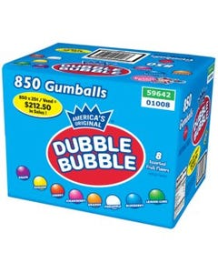 Gumballs Dubble Bubble Gum - 850 ct (Piece)