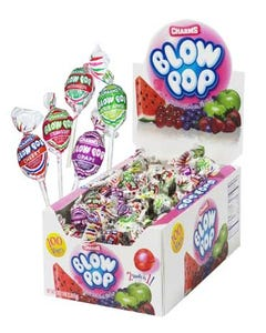 POP BLOW POP CHARMS 100 CT - 100 CT (Piece)
