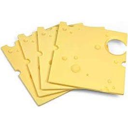 Slice Swiss Cheese - 24 oz (CASE)