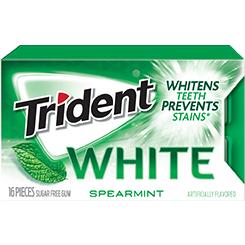 Trident White Spearmint Sugar Free Gum - 12 PK (Piece)