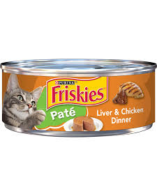 Purina Friskies Pate Liver & Chicken Wet Cat Food - 5.5 oz