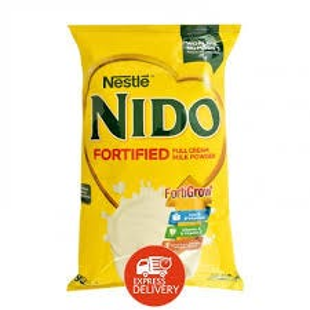 Nestle Nido Full Cream Milk Powder Pouch - 360 grams (CASE)